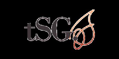 a brand new tsg logo